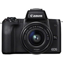 Canon EOS M50 Mirrorless Camera With EF-M 15-45mm IS STM Lens - Black Thumbnail Image 11